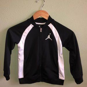 Jordan zip up warm up jacket.